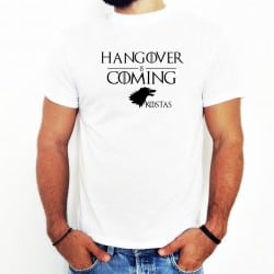 """Hangover is coming"" λευκό..."