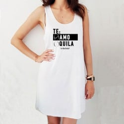 """Te Amo"" Φόρεμα παραλίας..."