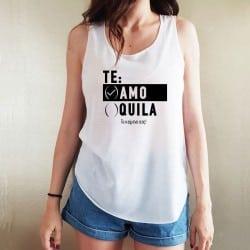 """""""Te Amo"""" λευκό τιραντάκι..."""