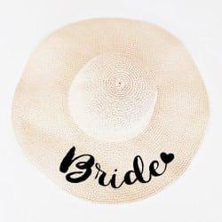 """""""Bride Amore"""" Πλατύγυρο καπέλο"""
