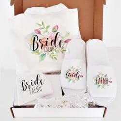 """Floral Lingerie"" Κουτί νύφης"