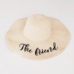 """""""The Friend"""" Πλατύγυρο καπέλο"""