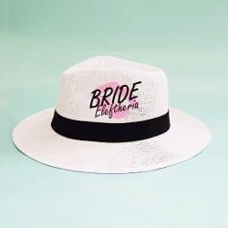 """Lips"" Panama καπέλο νύφης"
