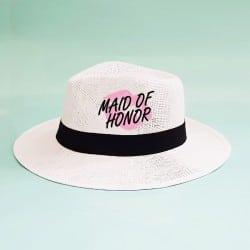 """Lips"" Panama καπέλο κουμπάρας"