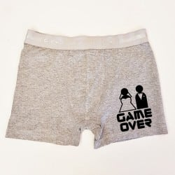 """Game Over"" μποξεράκι γαμπρού"