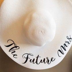 """Future Mrs"" Πλατύγυρο καπέλο"