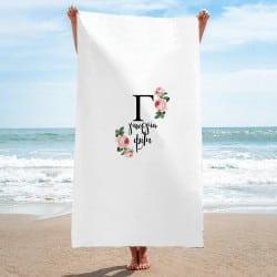 """Initial"" Πετσέτα παραλίας..."