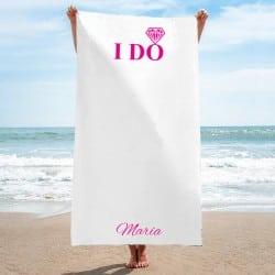 """""""I Do"""" Πετσέτα παραλίας για..."""