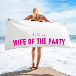 """Wife of the Party"" Πετσέτα..."