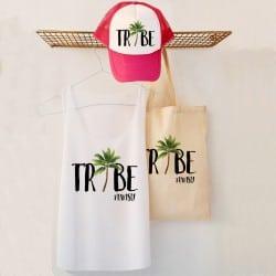 """""""Palm"""" Bachelorette bag set..."""