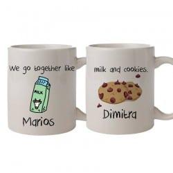 Milk & Cookies Σετ Κούπες