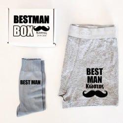 """""""Mustache Suit Up"""" Κουτί..."""