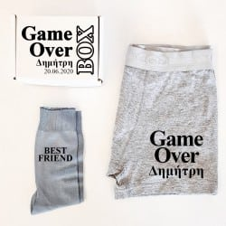"""""""Game Over Suit Up"""" Κουτί..."""