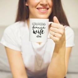 """Girlfriend-Wife"" Κούπα νύφης"