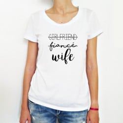 """Girlfriend-Wife"" λευκό..."