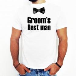 """Bowtie Best Man"" λευκό..."