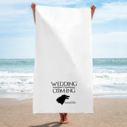 """Wedding is Coming"" Πετσέτα..."