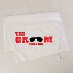 """Sunglasses Groom"" Πετσέτα..."