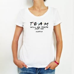 """Friends Team"" Λευκό tshirt..."