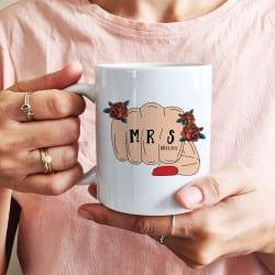 """Tattoo Mrs"" Κούπα νύφης"
