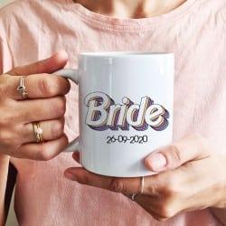 """Rainbow Bride"" Κούπα νύφης"