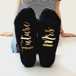 """Future Mrs"" Κάλτσες Νύφης"