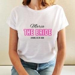 """""""Neon Bride"""" λευκό tshirt..."""