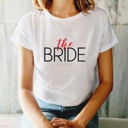 """""""The Bride"""" λευκό tshirt..."""