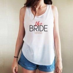 """""""The Bride"""" λευκό τιραντάκι..."""