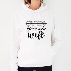 """""""Girlfriend-Wife"""" hoodie"""