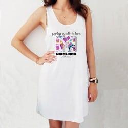 """""""90s Team"""" φόρεμα παραλίας..."""