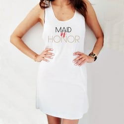 """The Maid of Honor"" φόρεμα..."