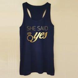 """She Said Yes"" τιραντάκι..."