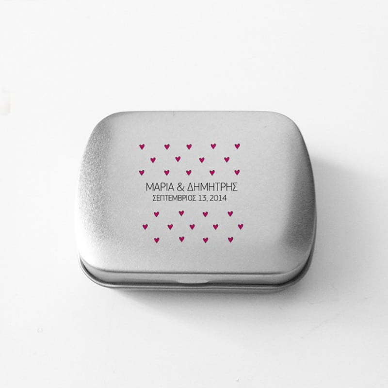 Love Hearts Mint Box
