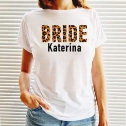 """""""Wild Bride"""" λευκό tshirt..."""