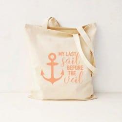 """Last Sail"" Τσάντα νύφης"