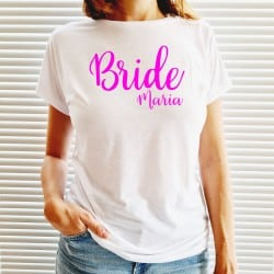 """Bride Just Love"" λευκό..."