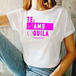 """""""Te Amo"""" λευκό tshirt για..."""