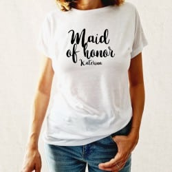 """Maid of Honor Amore"" Λευκό..."