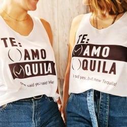 """""""Te Quila"""" λευκό τιραντάκι..."""