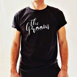 """""""Fancy Groom"""" μαύρο tshirt..."""