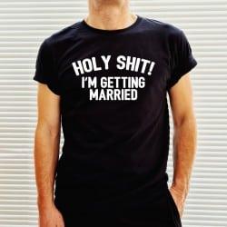 """Holy Shit!"" μαύρο tshirt..."