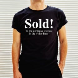 """Sold"" μαύρο tshirt για το..."