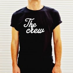 """Crew Amplify"" μαύρο tshirt..."