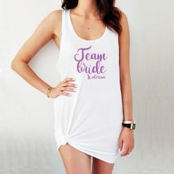 """Team Bride Amore"" φόρεμα..."