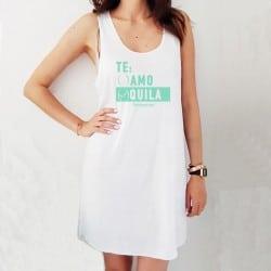 """Te Quila"" φόρεμα παραλίας..."