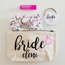 """Diamond Bride Beauty Bag""..."