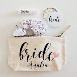 """""""Heart Bride Beauty Bag""""..."""