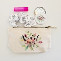"""Floral Beauty Bag"" Set για..."