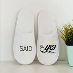 """I said yes"" Κλειστά νυφικά..."